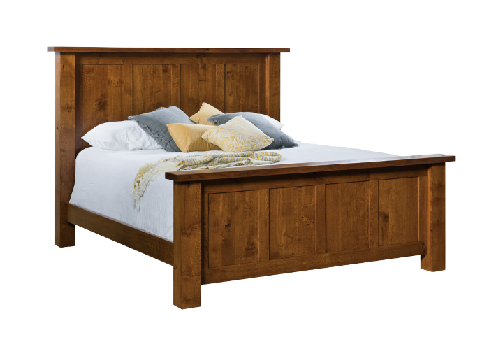solid wood beds